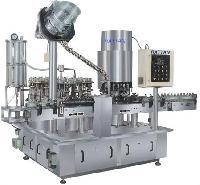 Automatic Vacuum Bottle Filling Cum Sealing Machine