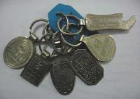 Silver Metal Key Chain