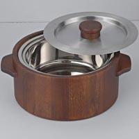Wooden Casserole - Manufacturer, Exporters and Wholesale Suppliers,  Uttar Pr