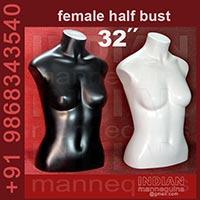 Female Bust Mannequins