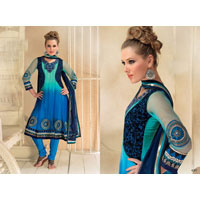 Semi Party Wear Salwar Kameez
