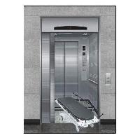 manual hospital elevator