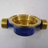Brass Single Jet Water Meter Body
