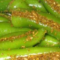 Mugni Green Chilli Pickle
