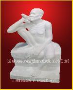 Gajanand Maharj Marble Moorti