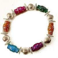 Glass Beaded Bracelets