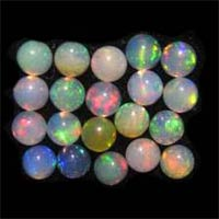 Ethiopian Fire Opal Gemstones