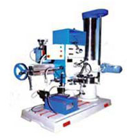 single column radial drilling machine