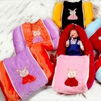 Baby Carrier Cum Wrapper Cum Bedding