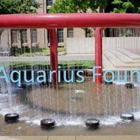 Ring Water Sheet Fountain