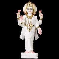 Lakshmi Statue Holding Lotus Flower