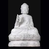 Teaching Buddha on Lotus Base Statue