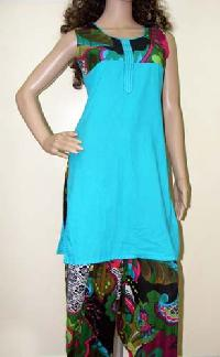 Blue Patiala Salwar Suit