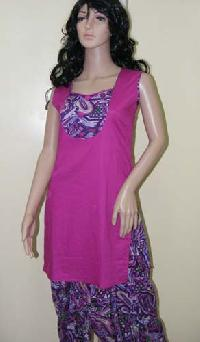 Purple Patiala Salwar Suit