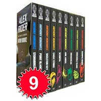 Alex Rider Collection 9 Books Gift Box Set Pack Anthony Horowitz