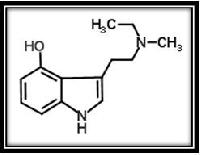 4-hydroxy-N-methyl-N-ethyltryptamine Fumarate