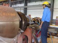 On Site Repair Of Turbine
