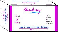 Examnination Gloves - Manufacturer, Exporters and Wholesale Suppliers,  Maharashtra - M/s. Amkay Products Pvt. Ltd.