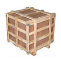 Light Wooden Crates