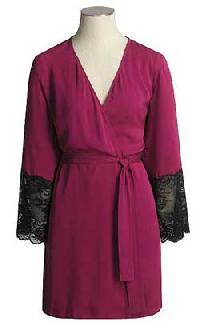 Ladies Short Bathrobe