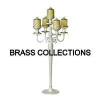 Brass Candle Stands - Manufacturer, Exporters and Wholesale Suppliers,  Uttar Pradesh - Brass Collections