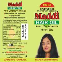 Hair Oil(ayurvedic) Maddi Hair Oil