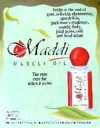 Maddi Muscle Oil (pain Relief Oil) Ayurvedic