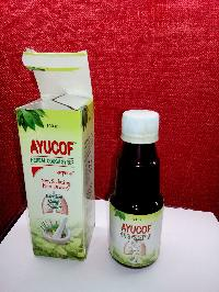 Ayucof Herbal Cough Syrup For Wet & Dry Cough