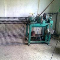 Semi Automatic Chain Link Fence Making Machine