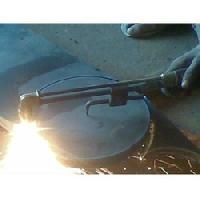 flange cutting machine