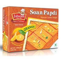 Soan Papdi Orange