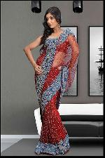 Indian Saree, Designer Partywear Wedding Saree