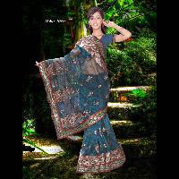 Indian Designer Saree Heavy Work Saree