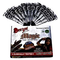 Dezee Magic Fast Henna Paste Cone (black Color)