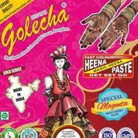 Golecha Sehnaaz Instant Henna Paste Cone (magenta Color)