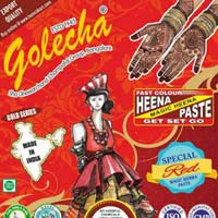Golecha Sehnaaz Instant Henna Paste Cone (Red Color)