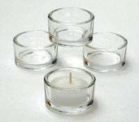 Glass T Lights Holders