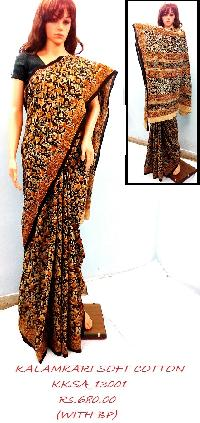 Kalamkari Soft Cotton Saree True Indian Art
