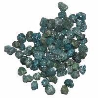 Blue Loose Rough Diamonds