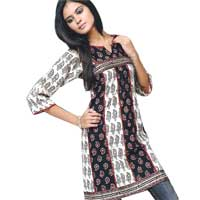 Ladies Designer Cotton Kurtis 1