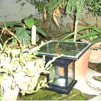 Solar Garden Light (001)