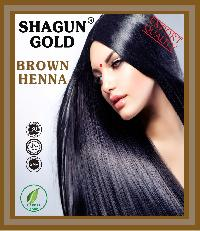 Heena Based Hair Color Dark  Brown