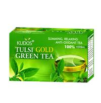 Kudos Tulsi Gold Green Tea