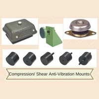 Compression/ Shear Vibration Damping Mounts