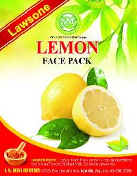 Lawsone Lemon Face Pack