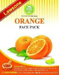 Lawsone Orange Face Pack
