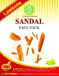 Lawsone Sandal Face Pack