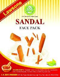 Lawsone Sandal Face Pack