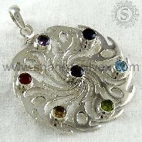Silver Pendants- CKPN2003-2