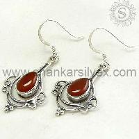 Ercb1486-18 Sterling Silver Earrings